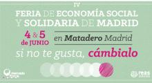 IV Feria del mercado social de Madrid