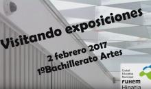 Visita Fundación Telefónica Alumnos de Artes